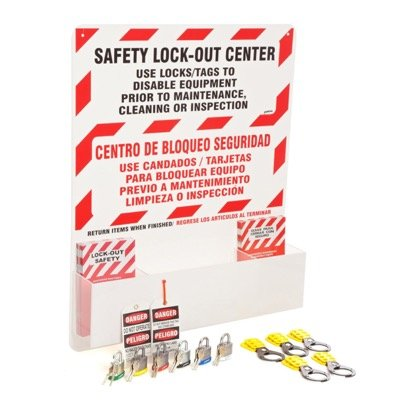 Prinzing® Bilingual Safety Lockout Center