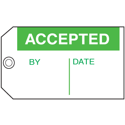Accepted By Date  Maintenance Tags