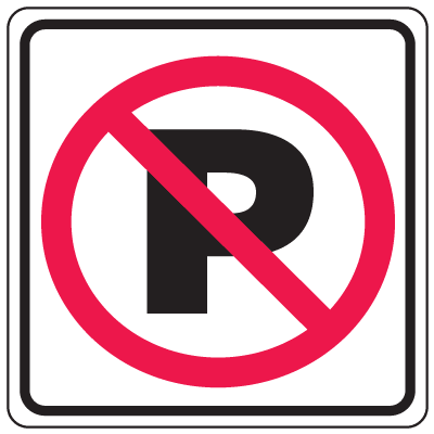 Prohibition Signs - No Parking