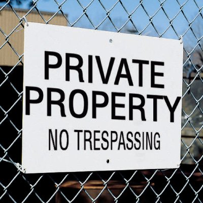 Property Signs - Private Property No Trespassing