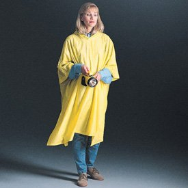 Safety Today PVC Rain Poncho