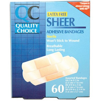 QC® Sheer Adhesive Bandages 1250033