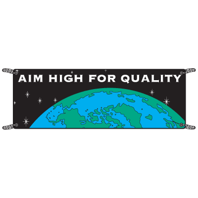 Aim For High Quality Banners