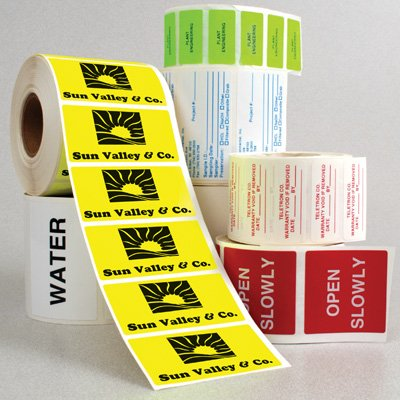 Custom Quick Ship Roll Form Labels