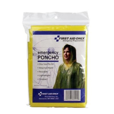 First Aid Only Rain Poncho