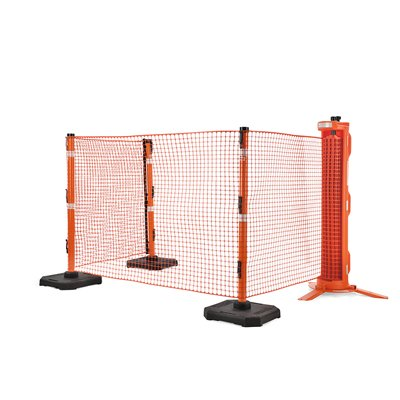 RapidRoll Portable Barrier - End Post