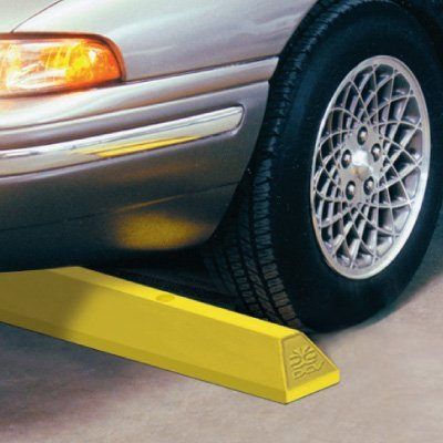 Heavy-Duty Plastic Parking Blocks
