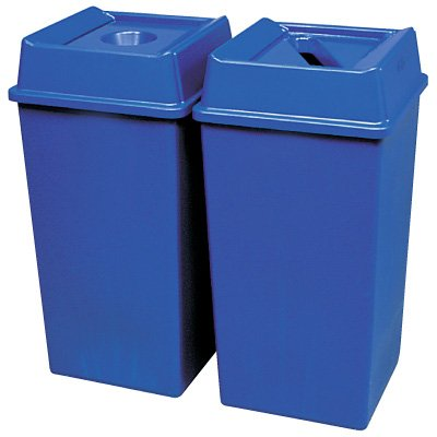 Rubbermaid® Square Recycling Containers