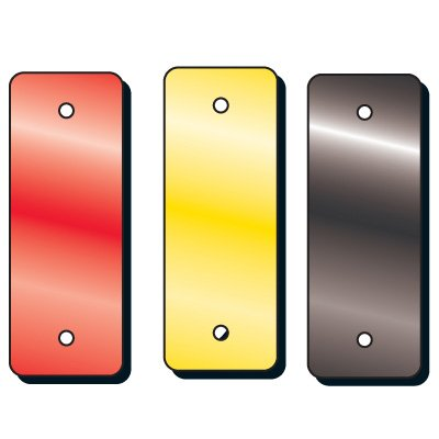 Rectangular Reflective Aluminum Safety Panels