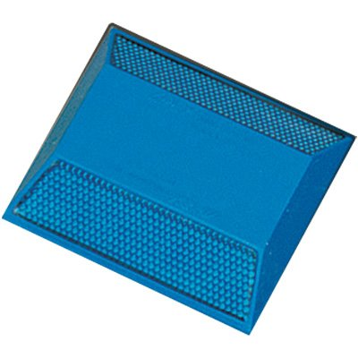 Reflective Pavement Markers - 2-Way Blue Reflector