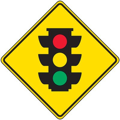 Reflective Warning Signs - Traffic Signal Ahead Sign