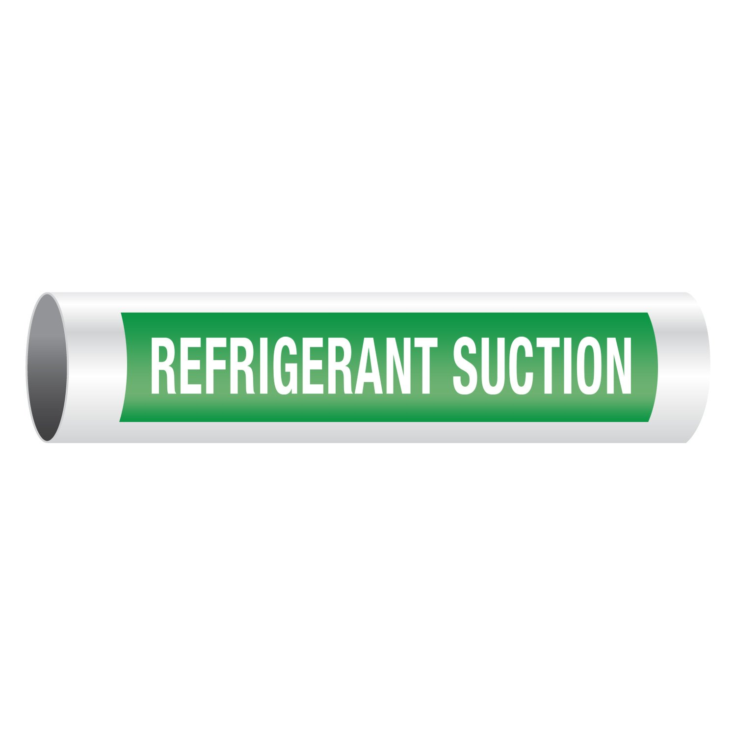 Refrigerant Suction - Opti-Code™ Self-Adhesive Pipe Markers