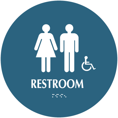 Restroom (Accessibility) - Optima California Code Restroom Signs