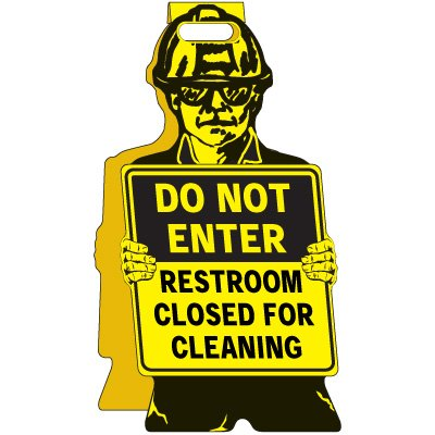 Restroom Closed - Floor Stand