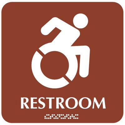 Restroom (Dynamic Accessibility) - Optima ADA Restroom Signs