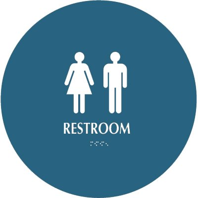 Restroom - Optima California Code Restroom Signs