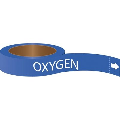 Roll Form Pipe Markers - Oxygen
