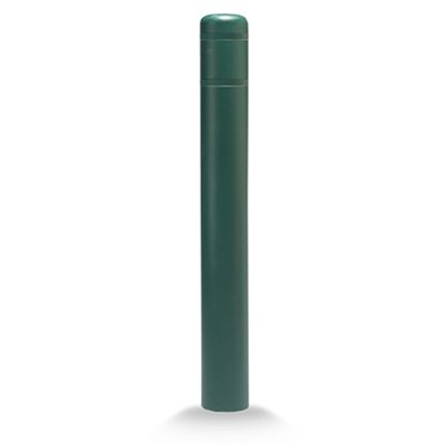 "Post Guard CL1385SS64 Green Bollard Cover 5"" x 64"" No Tape"