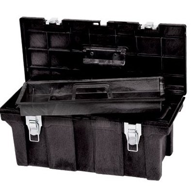 Rubbermaid® Rubbermaid Commercial - Tool Boxes 7802-00-BLA