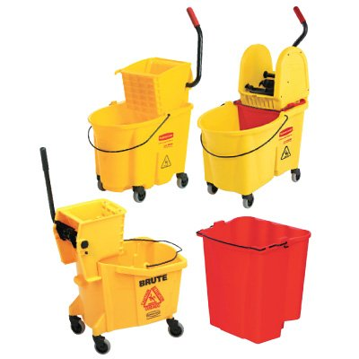 Rubbermaid® WaveBrake® Mop Bucket and Wringer Combinations