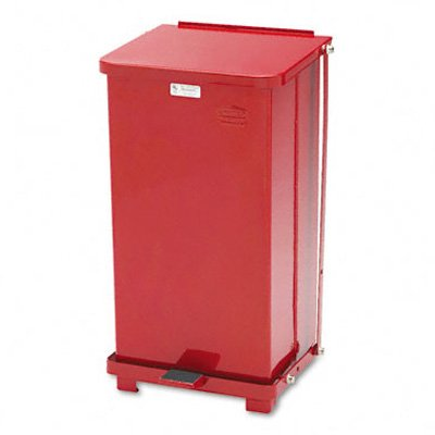 Rubbermaid® Commercial Defenders® Heavy-Duty Steel Step Can