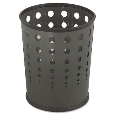 Safco® Bubble Wastebasket SAF9740BL
