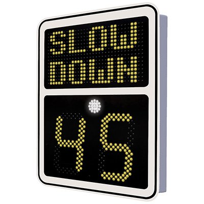 SafePace 600 Radar Feedback Sign