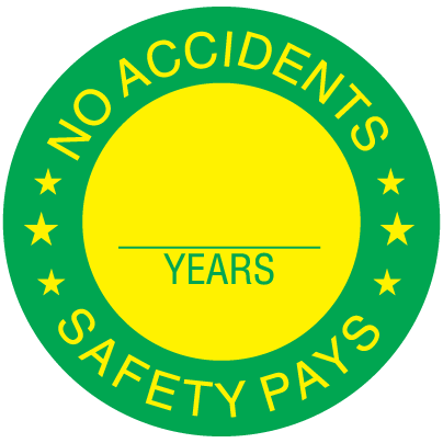 Award Labels - No Accidents