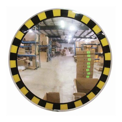 Safety Border Caution Mirror