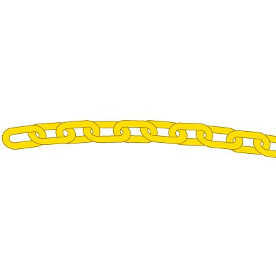 Safety Cone Plastic Chain