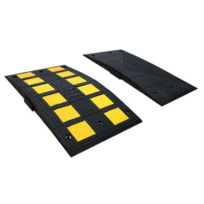 Safety Rider End Speed Bump Caps