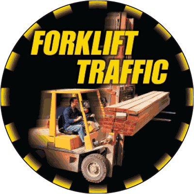 Forklift Traffic Floor Markers