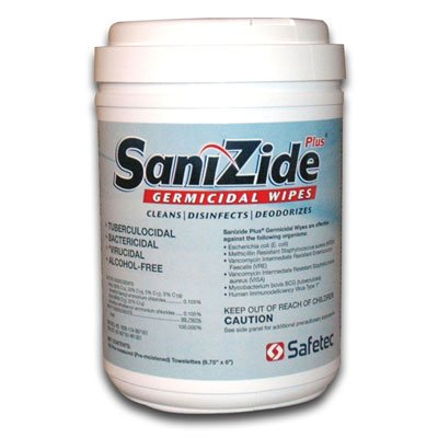 Sanizide Plus® Germicidal Wipes 34823