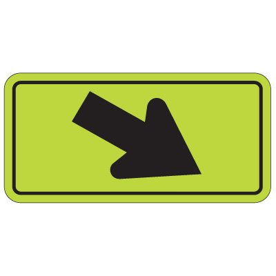 School Safety Signs - Arrow Right