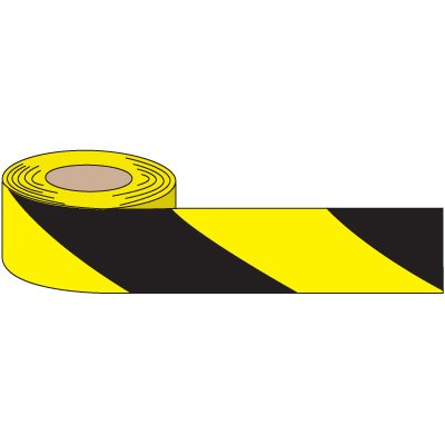 Anti-Slip Black And Yellow Striped Tape