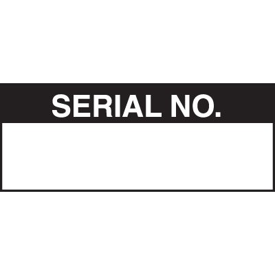 Serial NO. Status Labels