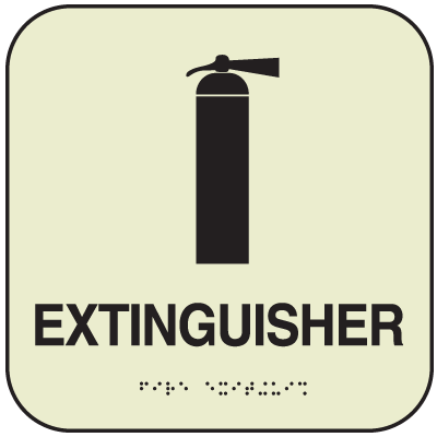 SetonGlo™ Signs - Fire Extinguisher