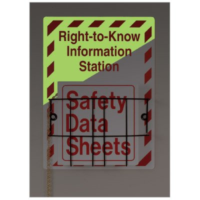 SetonGlo® SDS Right-to-Know Station