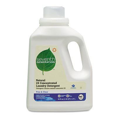 Seventh Generation® Free & Clear Natural 2X Concentrate Laundry Detergent SEV22769EA