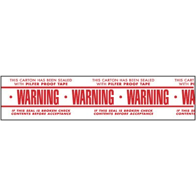 Nadco Warning Shipping Tape PPW-2-55WP
