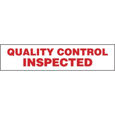 Nadco Quality Control Inspected Shipping Tape SPECIAL SPT7