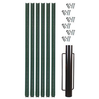 Metal Sign Post & Post Driver Kit
