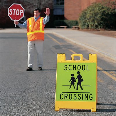 School Crossing Signicade Crosswalk Sign