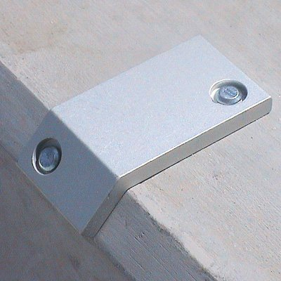 Skateboard Prevention Devices for Chamfered Edges