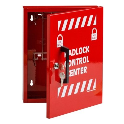 Small Steel Padlock Control Center