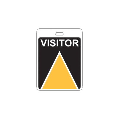 Specialty ID Badges - Visitor