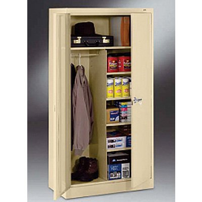 "18""-deep Tennsco Combination Storage Cabinets"