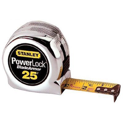 "Stanley® - Powerlock® Tape Rules 1"" Wide Blade w/BladeArmor™ 33-525"