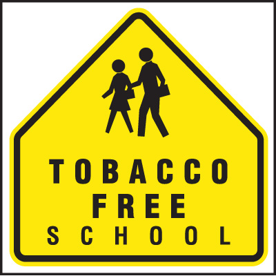 Montana Smoke-Free Signs - Tobacco Free School