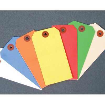 Stock Color Coded Paper Tags